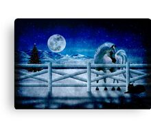 Peace on Earth Canvas Print
