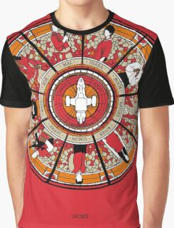 Cathedral of the Serenity Graphic T-Shirt