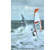 Extreme windsurfing Photographic Print