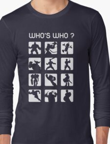 Who's who ? (normal difficulty) Long Sleeve T-Shirt