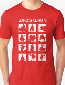 Who's who ? (bad guys edition) T-Shirt