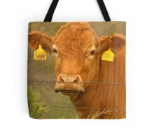 A Cow Named, Sioux Tote Bag