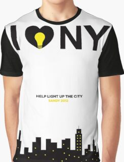 Help Light Up The City Graphic T-Shirt
