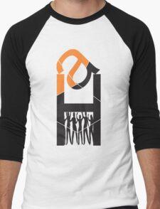 Monograms design Men's Baseball ¾ T-Shirt