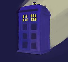 TARDIS by iliketrees