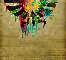 Hylian Paint Splatter by cluper