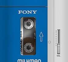 Cassette Player (Vintage Sony Walkman) by Alisdair Binning