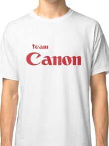 Team Canon Original Classic T-Shirt