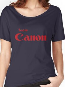 Team Canon Original Women's Relaxed Fit T-Shirt