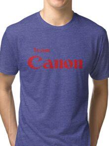 Team Canon Original Tri-blend T-Shirt