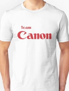 Team Canon Original Unisex T-Shirt