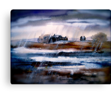 Winter Rain Canvas Print