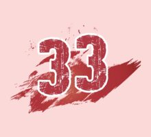 Number 33 Kids Clothes