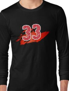 Number 33 Long Sleeve T-Shirt