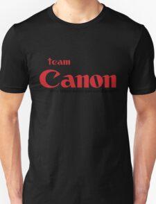 Team Canon! - why nikon when you can CANON. Unisex T-Shirt