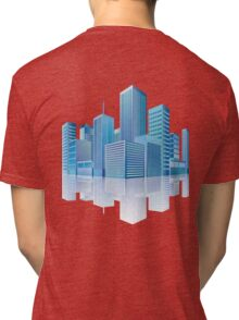 City Scape Tri-blend T-Shirt