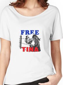 FREE TINA Women's Relaxed Fit T-Shirt