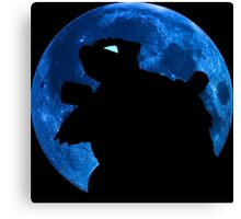 pokemon blastoise moon anime manga shirt Canvas Print