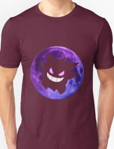 pokemon gengar moon anime manga shirt T-Shirt