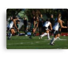 100511 221 0 water color field hockey Canvas Print