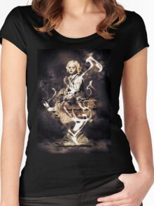 Horror Girl Women's Fitted Scoop T-Shirt