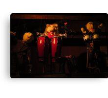Muppet Rock Canvas Print