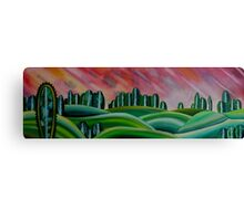 Lonely Hills Canvas Print