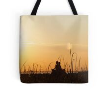 Yoga with the Statue of Liberty, New York Tote Bag