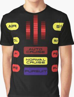 Knight Rider KITT Car Dashboard Graphic Graphic T-Shirt