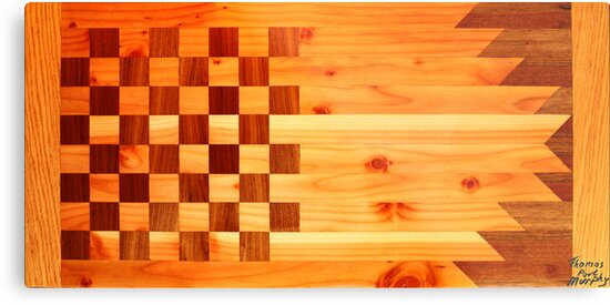 Woodworking Flag by Thomas Murphy
