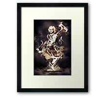 Horror Girl Framed Print