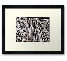 LOOMing Large Framed Print