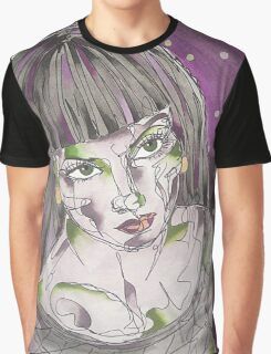 Goth Girl Graphic T-Shirt
