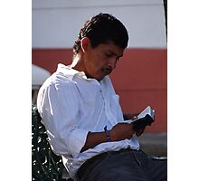 Traditional Reader - Lector tradicional Photographic Print