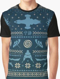 Shiny Sweater Graphic T-Shirt