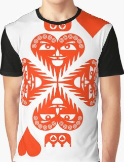 Anteros King of Hearts Graphic T-Shirt