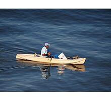 Fishing In The Morning Light - Pescar En La Luz De La Manaña Photographic Print