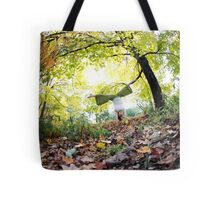 Autum Handstand in Central Park, New York  Tote Bag