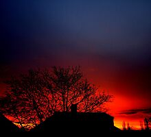 London's incredible sunrise 19/12/11 by emferrari