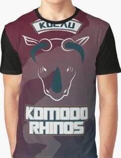 Kolau Komodo Rhinos Graphic T-Shirt