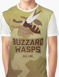 Bau Ling Buzzard Wasps Graphic T-Shirt