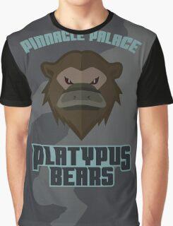 Pinnacle Palace Platypus Bears Graphic T-Shirt