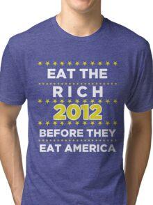 Eat The Rich Tri-blend T-Shirt