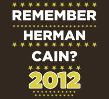 Remember Herman Cain? 2012? by BNAC - The Artists Collective.