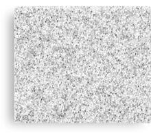 glitter white Canvas Print