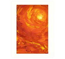 Fire Down Below Art Print