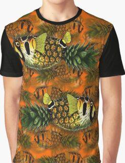 pineapple puffer phish [pppfff!!!]  school Graphic T-Shirt