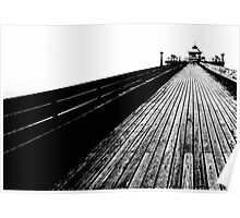 Along the pier at Clevedon Poster
