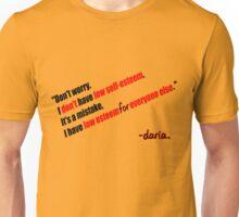 Daria - Self Esteem Unisex T-Shirt