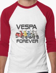 Vespa Forever Men's Baseball ¾ T-Shirt